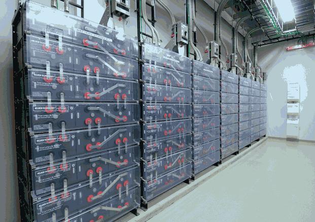 168 батарей, гарантирующих 24 часа автономной работы в датацентре в Нью-Джерси